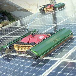 nettoyage panneaux photovoltaïques verrières